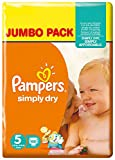 Pampers Simply Dry Pannolini Junior, Taglia 5 - Best Reviews Guide