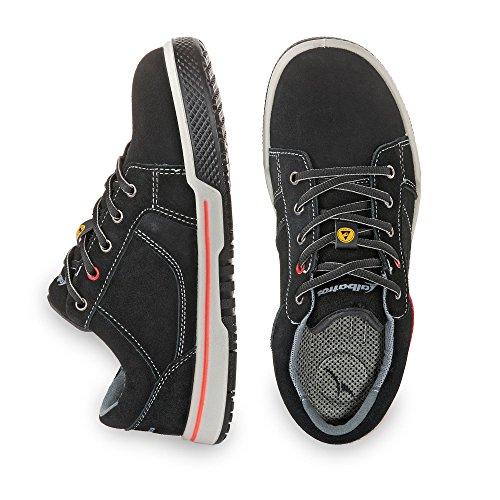 Albatros Freestyle Black Low, Chaussures de Sécurité Mixte Adulte Noir (Black)