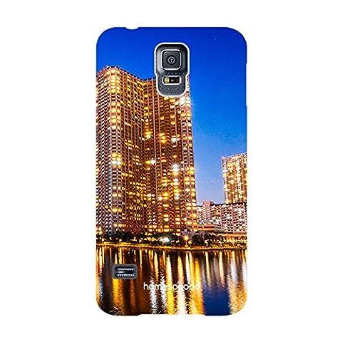 HomeSoGood Lifeline Of Tokyo Blue 3D Mobile Case For Samsung