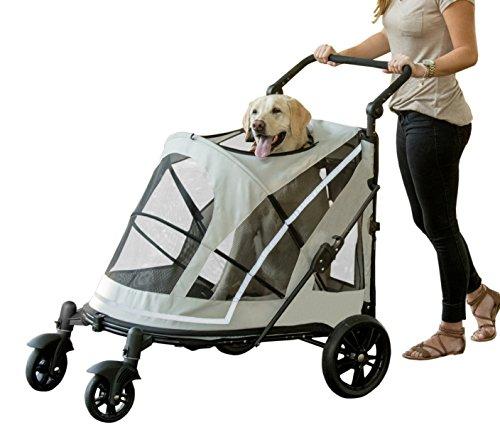 Pet Gear No-Zip Expedition Zipperless Entry Boysenberry Pet Stroller 1