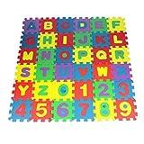 Spielzeug Oyedens 36pcs Baby Nummer Alphabet Puzzle Schaumstoffmatten PäDagogisches Spielzeug - 3