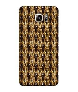 Fuson Designer Back Case Cover for Samsung Galaxy S6 G920I :: Samsung Galaxy S6 G9200 G9208 G9208/Ss G9209 G920A G920F G920Fd G920S G920T (Bronze Girl Face Long Earrings)