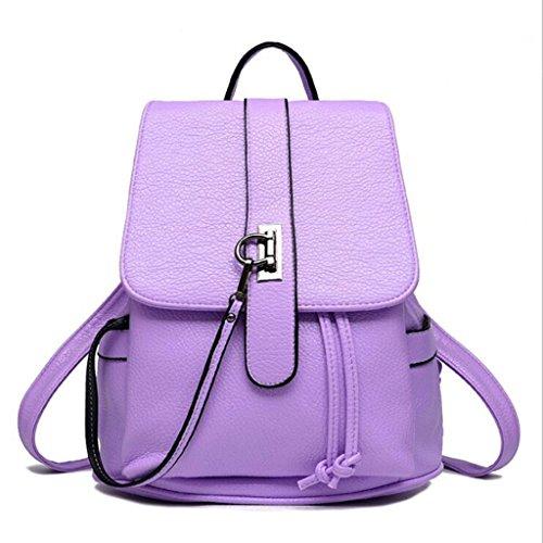 Frauen Rucksack Rucksack Mode lässig Handtasche Student Rucksack Europa und Amerika Handtasche (Größe: 26 * 12 * 27cm)