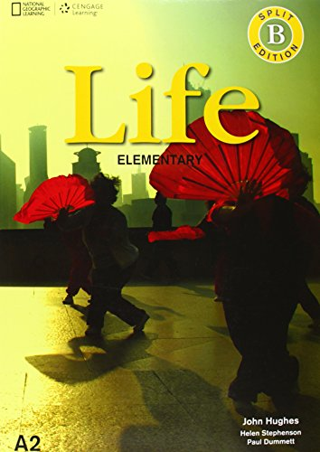 Life - First Edition A1.2/A2.1: Elementary - Student's Book and Workbook (Combo Split Edition B) + DVD-ROM: Unit 7-12 por Paul Dummett