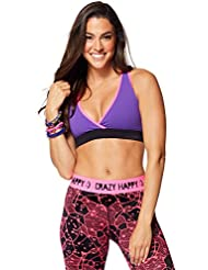 Zumba Fitness Keep On Glowing Soutien-gorge Fille Galaxy FR : M (Taille Fabricant : M)
