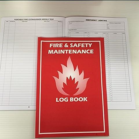 FIRE LOG BOOK -A4- BRAND NEW - COMPLIANT