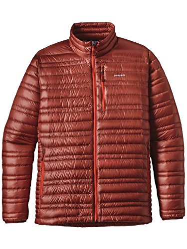 Patagonia Herren Jacke Ultralight Down Cinder Red