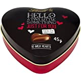 Lindt Hola Corazón 10 Corazones De Chocolate De Leche 45g