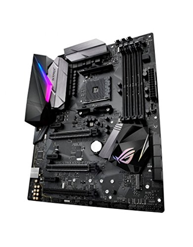 Asus ROG Strix X370-F Gaming Mainboard Sockel AM4 (ATX, AMD X370, Ryzen, 4x DDR4 Speicher, USB 3.1, M.2 Schnittstelle)