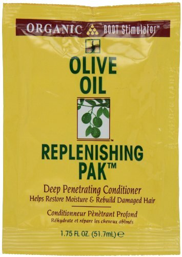 Root Stimulator Olive Oil Replenishing Pack By Organic for Unisex, 1.75 Ounce by Organic (English Manual)