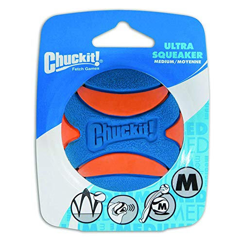 Chuckit! CH52068 Ultra Squeaker Ball Medium 1-er Pack -