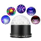ALED LIGHT LED Licht Rotation Automatisch Bühnenbeleuchtung 15W RGB Sprachaktiviertes Kristall...