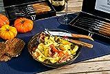 Laguiole Style de Vie Steakmesser Luxury Line, 6-teilig, Olivenholz - 7