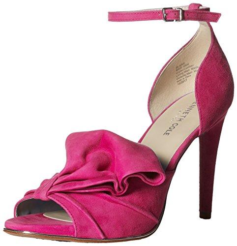 Kenneth Cole New York Women's Blaine Oversize Bow Stilleto Dress Heeled Sandal, Medium