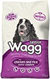 Wagg Dog Food Complete Senior Dry Mix 15kg