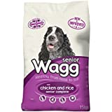 Wagg Dog Food Complete Senior Dry Mix, 15 kg