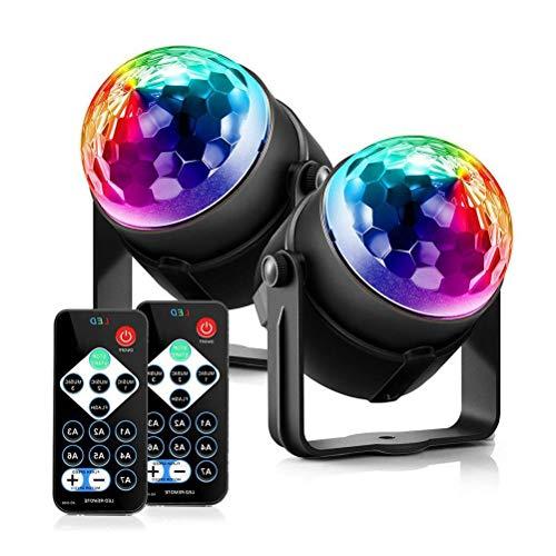 elle Party Licht RGB LED Bühnenbeleuchtung Disco Ball Magic Strobe Club Beleuchtung ()