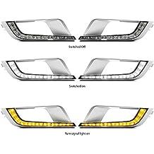 motorfansclub LED DRL luz diurna antiniebla para Ford Ranger PX2MK2Wildtrak 20162017