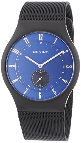 Bering Time Men's Watch XL Analogue Quartz Stainless Steel Radio Controlled 51940–227