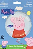 Amscan International - Globo de cumpleaños, diseño de Peppa Pig