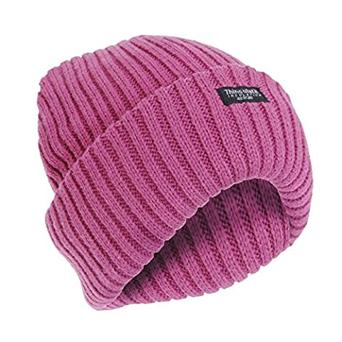 Bonnet De Ski Rose - FLOSO - Bonnet de ski thermique Thinsulate