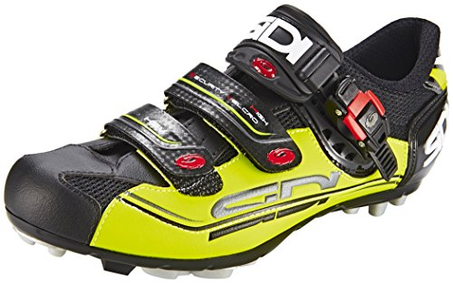 Preisvergleich Produktbild Sidi MTB Eagle 7 Fahrradschuhe Herren black/yellow Größe 39 2017 Mountainbike-Schuhe