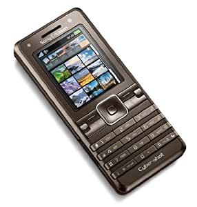 Sony Ericsson K770i CyberShot Téléphone portable Bluetooth mp3 3G Appareil photo Radio FM -Marron