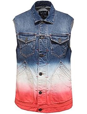 7518O giacca senza maniche ARMANI JEANS gilet uomo jacket men