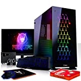 Fierce Sniper High-End RGB/RVB PC Gamer - 4.6GHz 6-Core Intel Core i7 8700K, 240Go SSD, 2To HDD, 8Go, NVIDIA GeForce RTX 2080 8Go, Clavier (QWERTY), Souris, Moniteur 21.5 Pouces, Haut-parleurs 957664