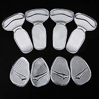 ZOEON 2 Paar Heel Grips und 2 Paar Vorfuß Pads Selbstklebend Schuh Pads Anti-Rutsch-Einlegesohlen Einsätze für... preisvergleich bei billige-tabletten.eu