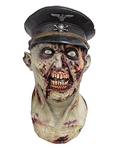 Zombie Offiziers Vollmaske (Zombie Vollmaske)