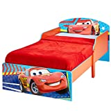 Kinderbett Disney Cars 140x70cm - Kleinkinderbett mit stabilem Rausfallschutz