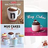 Mug Cakes Collection 3 Books Bundle With Gift Journal (Nutella Mug Cakes and More: Quick and Easy Cakes, Cookies and Sweet Treats, Mug Cakes: Ready in Five Minutes in the Microwave, Mug Cakes: 40 speedy cakes to make in a microwave)