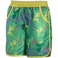 PUMA Girls Beach Shorts, island green-limeade, 556689