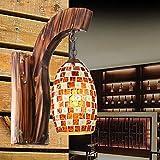 kai lámpara de pared, 1 Luz, estilo mediterráneo ledes escaleras metálico