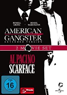 American Gangster / Scarface [2 DVDs]