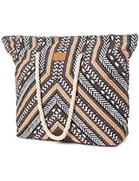 Rip Curl Eclipse Wind Beach Bag Bolsa de Tela y de Playa, 10 cm, Negro