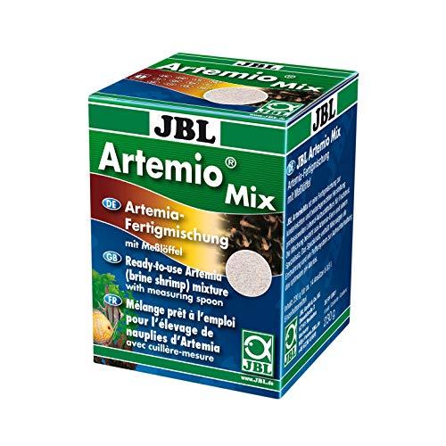 JBL ArtemioMix 30902 Alleinfutter für Krebse zum Anmischen, Lebendfutter 230g