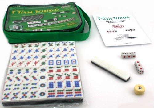 Original Mah-Jongg für 3-4 Spieler in Nylontasche - Das chinesische Kultspiel