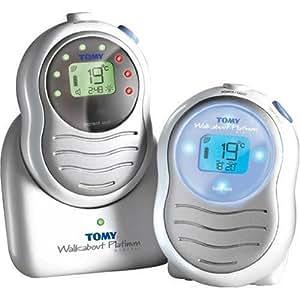 tomy walkabout platinum digital baby monitor baby. Black Bedroom Furniture Sets. Home Design Ideas