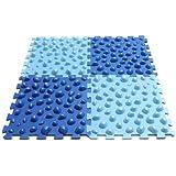 Allcura tapis de r flexologie plantaire hygi ne et soins du corps - Tapis d acupression shanti ...