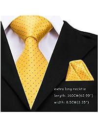 HXCMAN 100/% Woven Silk Neck Tie Necktie purple black floral