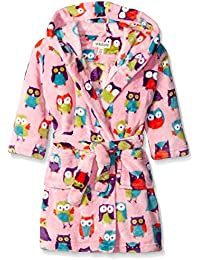 Hatley Kids Fleece Robe-Party Owls, Vestido para Niños