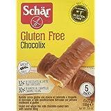 Chocolix Barretta Dietetica con Ripieno al Caramello e Ricoperta di Cioccolato al Latte senza Glutine 110 G