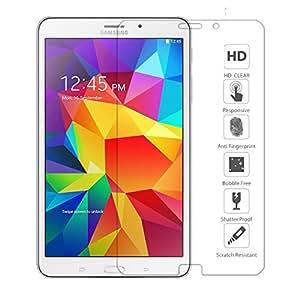 """Ganvol Samsung Galaxy Tab 4 8,0"""" Film de Protection écran en Verre Tremp pour Tab 4 8 Pouces SM-T330 Wifi SM T331 3G SM-T335 4G LTE"""