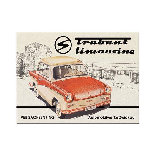 Nostalgic-Art 14219 Trabant - Trabant Limousine, Magnet 8x6 cm