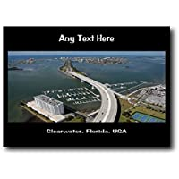 Clearwater, Florida, usa personalizzato tappetino