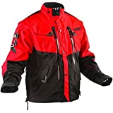 Fly Racing–Chaqueta Patrol–de color rojo y negro Rojo rojo Talla:xx-large