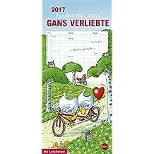 Gänse Planer für zwei - Kalender 2017
