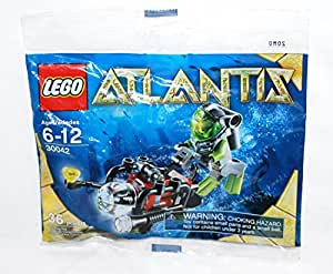 lego 30042 jeux de construction lego atlantis plongeur avec mini sous marin article. Black Bedroom Furniture Sets. Home Design Ideas